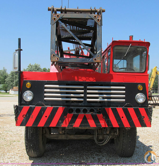 Sold FMC Link-Belt HC-108B truck crane Crane for  on CraneNetwork.com