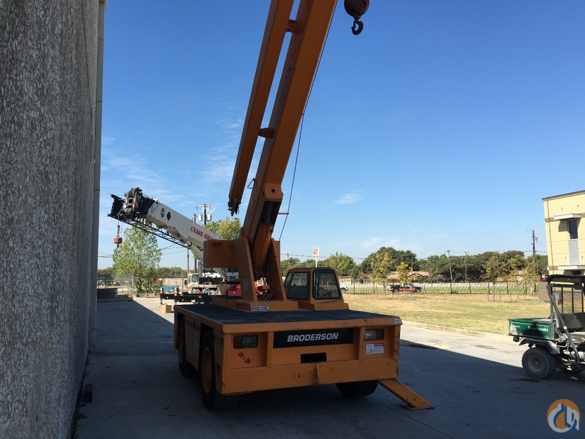 Broderson IC200-2B Carry Deck Industrial Cranes Crane for Sale 1995 BRODERSON IC200-2B in Dallas  Texas  United States 219075 CraneNetwork