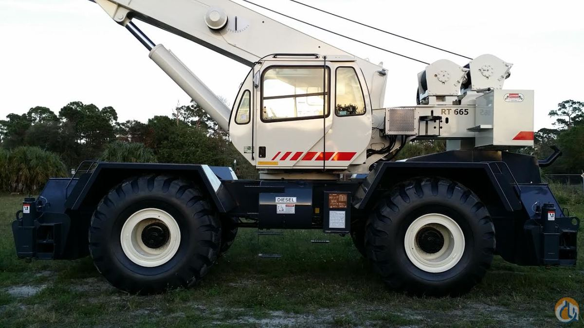 2006 TEREX RT665 65 TON FLORIDA CAN DELIVER Crane for Sale in Fort Pierce Florida on CraneNetworkcom