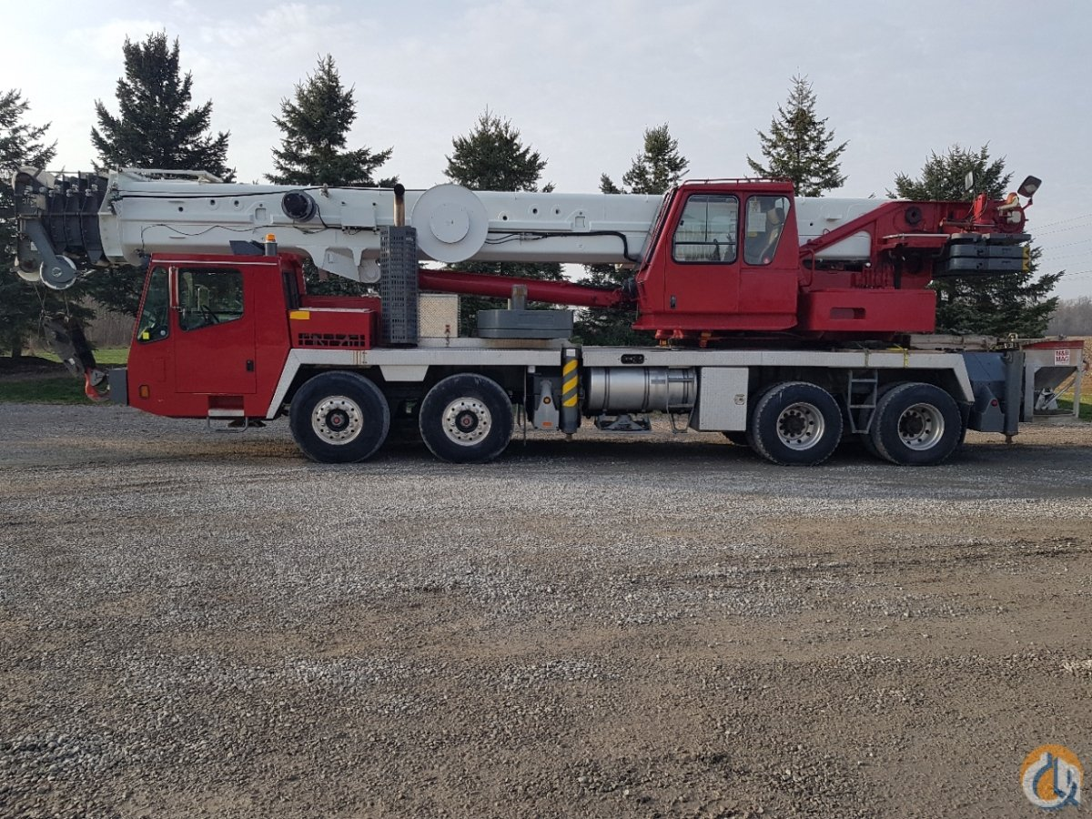 Sold 2007 TMS 900E Crane for  on CraneNetwork.com