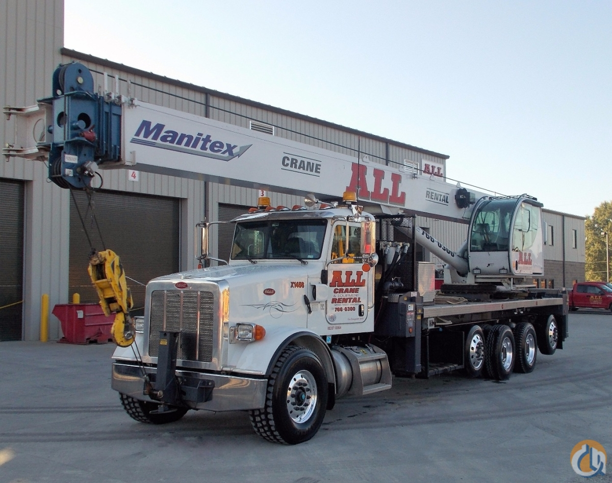 Sold 2014 MANITEX 50128S Crane for  in Nitro West Virginia on CraneNetwork.com