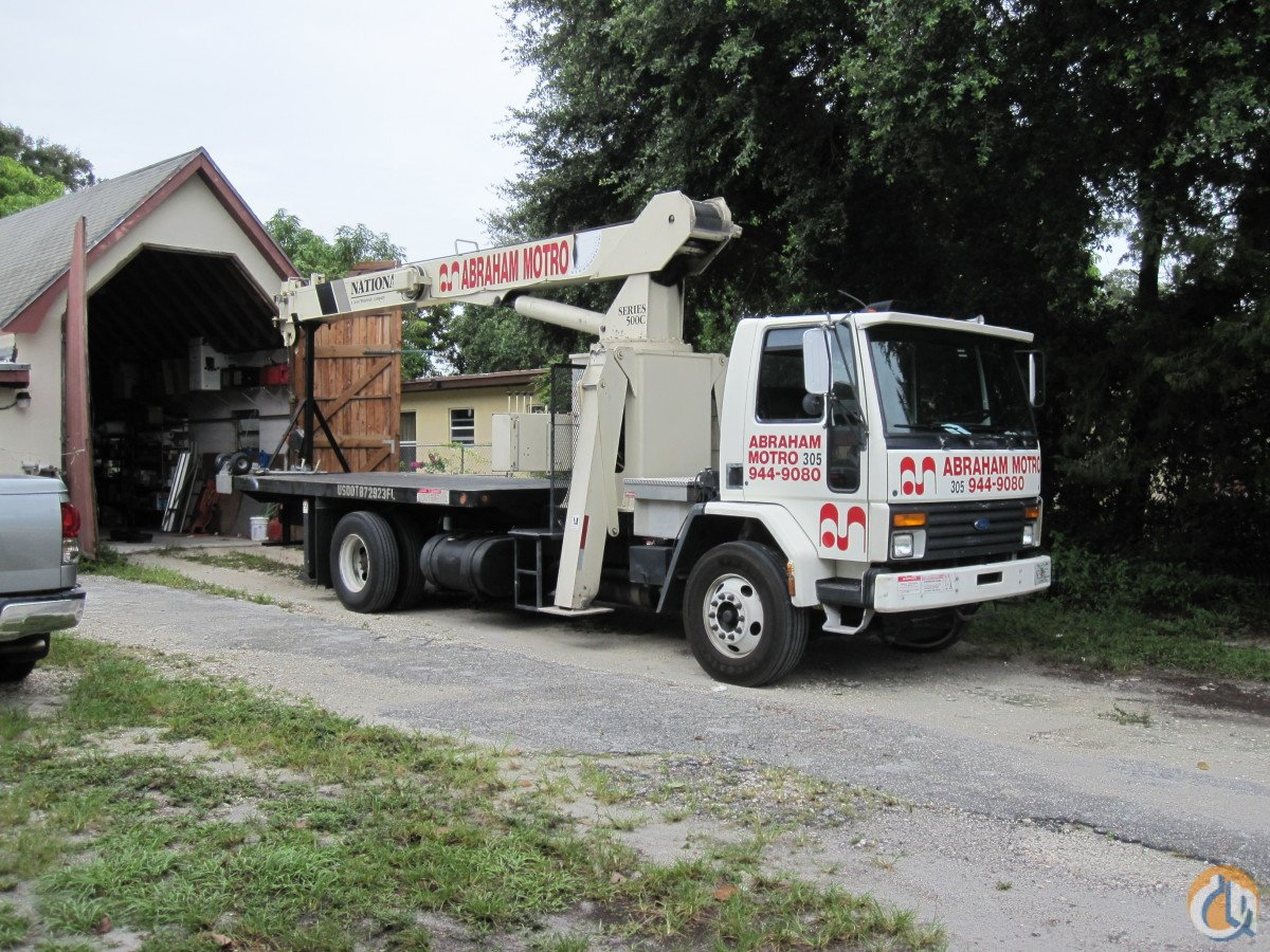 15-TON NATIONAL BOOM TRUCK CRANE FOR SALE Crane for Sale in Miami Florida on CraneNetwork.com