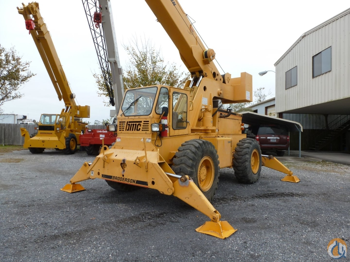 Broderson RT300 Crane for Sale in Houston Texas on CraneNetwork.com