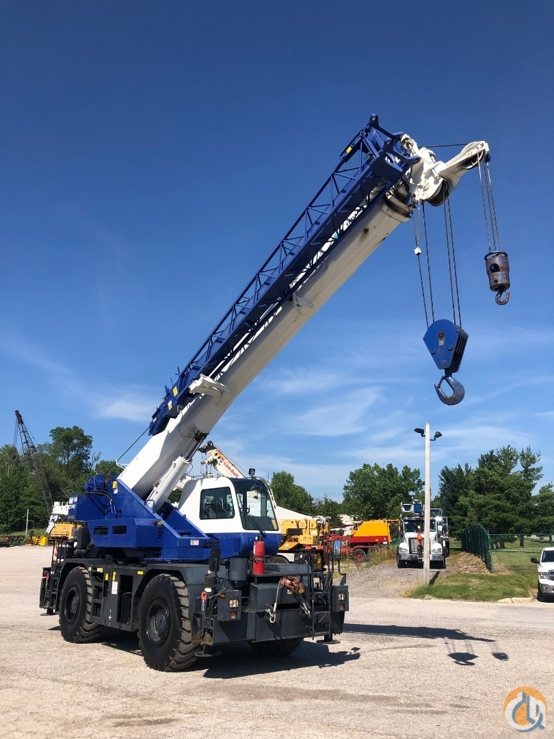 2013 Tadano GR350XL 35 ton rough terrain crane Crane for Sale in Solon Ohio on CraneNetwork.com
