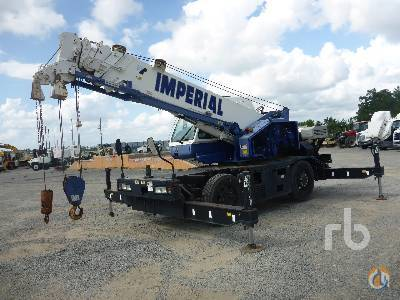 Sold 2009 TADANO GR150XL-1 15 Ton 4x4x4 Rough Terrain Crane Crane for  in Houston Texas on CraneNetworkcom