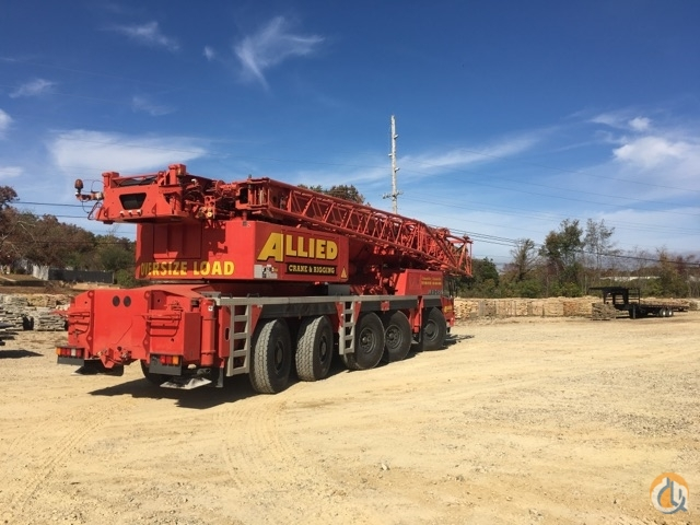 Liebherr 1160-2 Crane for Sale in Crossville Tennessee on CraneNetwork.com