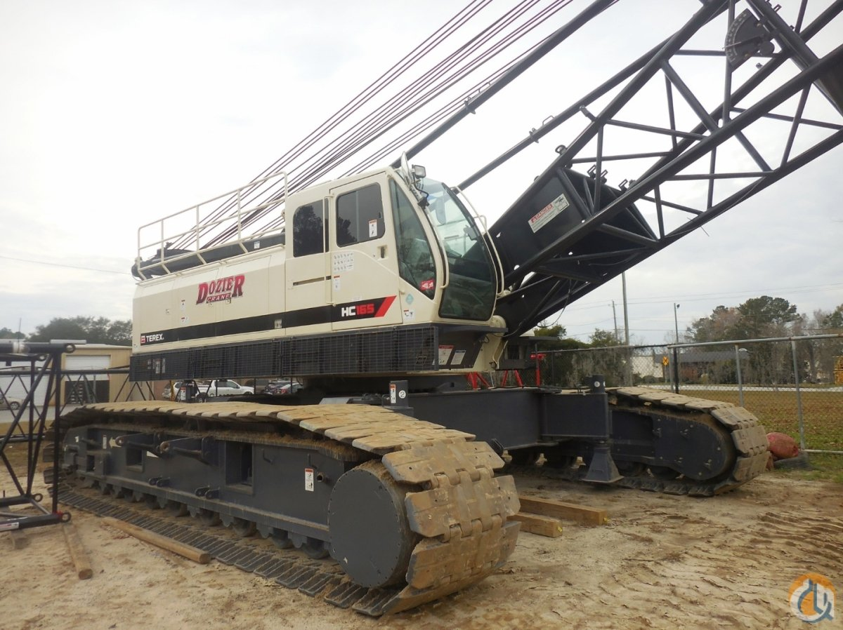 2016 TEREX HC-165 Crane for Sale or Rent in Savannah Georgia on CraneNetwork.com