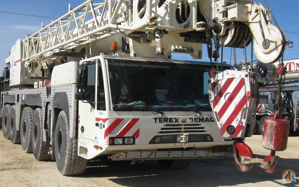 2005 TerexDemag AC 140 Crane for Sale in Corpus Christi Texas on CraneNetworkcom