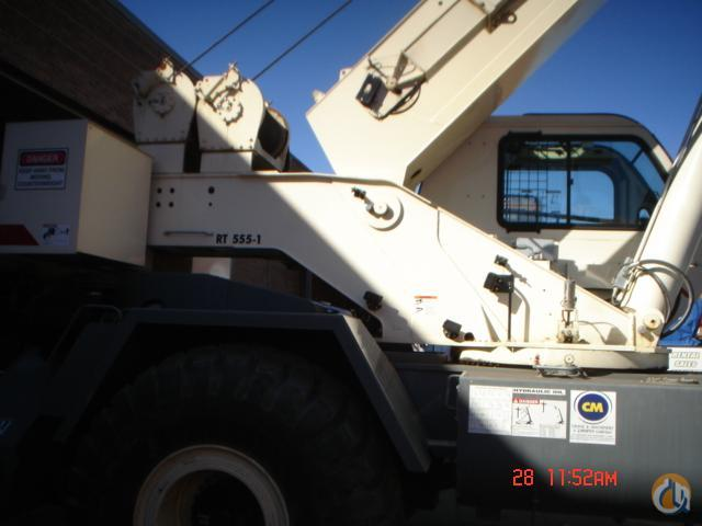 2008 TEREX RT555-1 Crane for Sale or Rent in Bridgeview Illinois on CraneNetworkcom