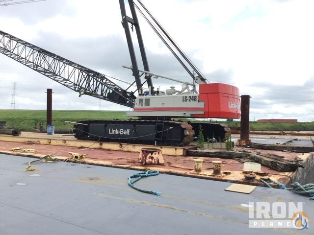 Sold Link-Belt LS-248 Crawler Lattice Boom Cranes Crane for  Link-Belt LS-248 Lattice-Boom Crawler Crane in Chesapeake  Virginia  United States 219033 CraneNetwork