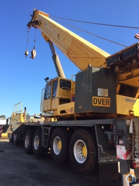 Talk about a super-low hours  kms all terrain crane - recently overhauled Crane for Sale in Perth Western Australia on CraneNetwork.com