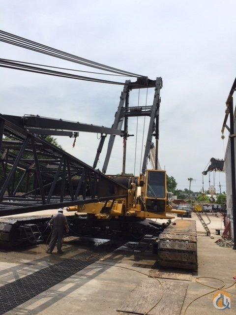 Manitowoc M250 Crawler Lattice Boom Cranes Crane for Sale Manitowoc M250 in  Texas  United States 214225 CraneNetwork