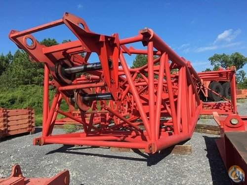 2001 Manitowoc 21000 crawler crane with Luffing Attachment and Wheeled Maxer 1000 ton capacity Crane for Sale in Cocoa Florida on CraneNetwork.com