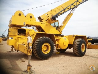 1985 LINK-BELT HSP8040 Rough Terrain Crane for Sale on CraneNetwork.com