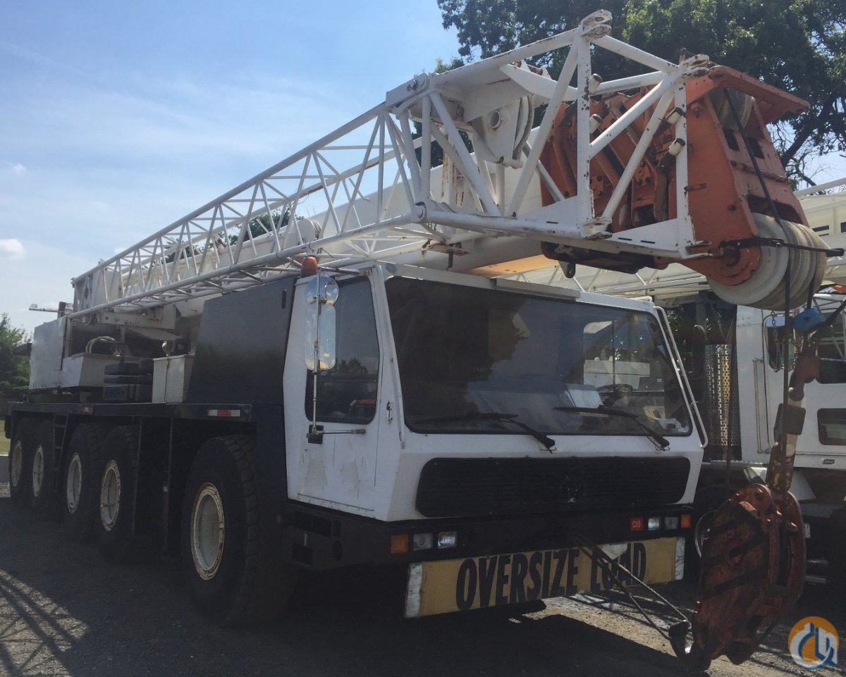 Krupp KMK 5110 All Terrain Cranes Crane for Sale 1990 KRUPP KMK 5110 in   United States 216646 CraneNetwork