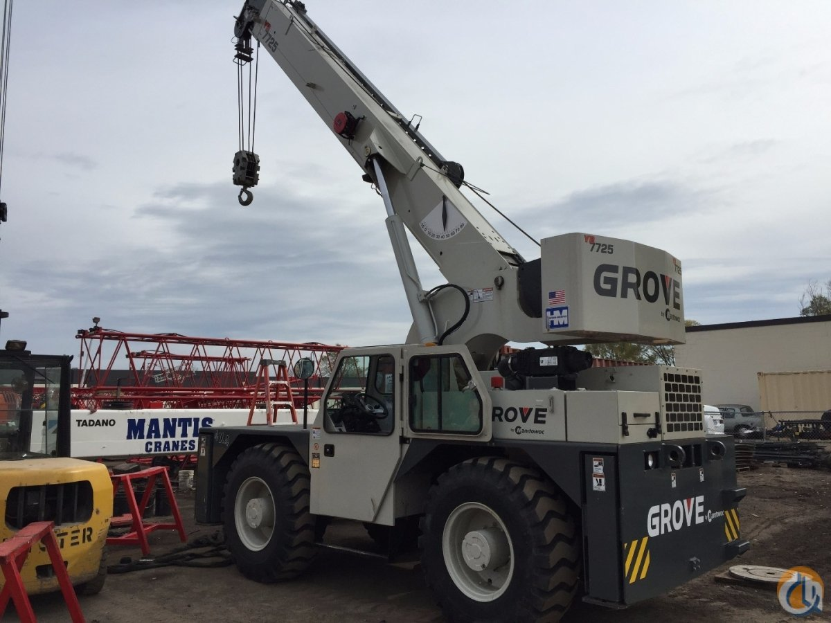 2013 Grove YB7725 Crane for Sale in Minneapolis Minnesota on CraneNetwork.com
