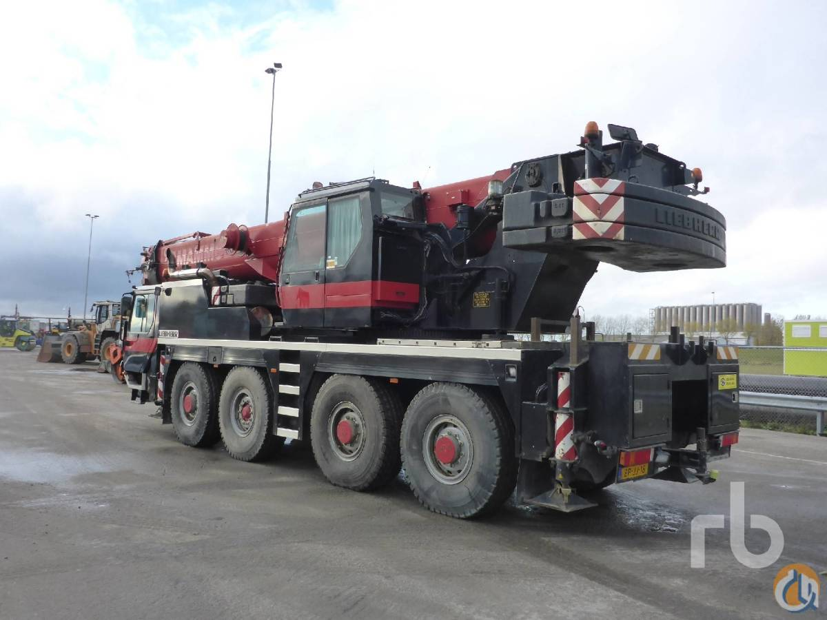 Sold 2004 LIEBHERR LTM1080 All Terrain Crane Crane for  in Moerdijk North Brabant on CraneNetworkcom