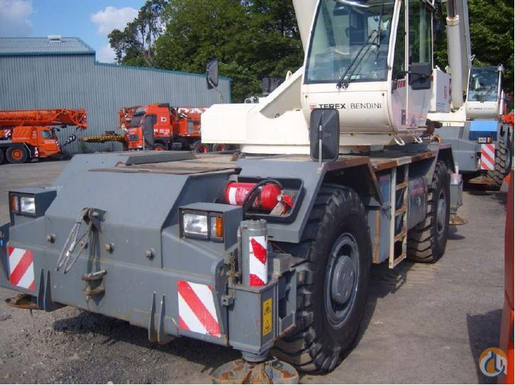 2007 TEREX RC 40 RT CRANE Crane for Sale in Dartford England on CraneNetwork.com