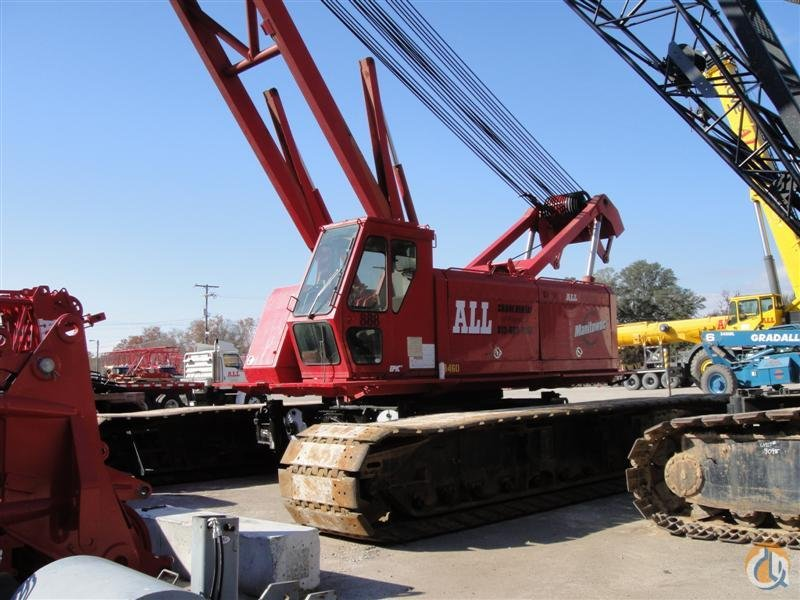 1996 Manitowoc 888 For Sale Crane for Sale in Tampa Florida on CraneNetworkcom