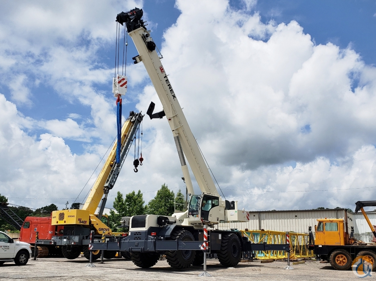 2018 TEREX RT-100US Crane for Sale or Rent in Fairfield Alabama on CraneNetwork.com