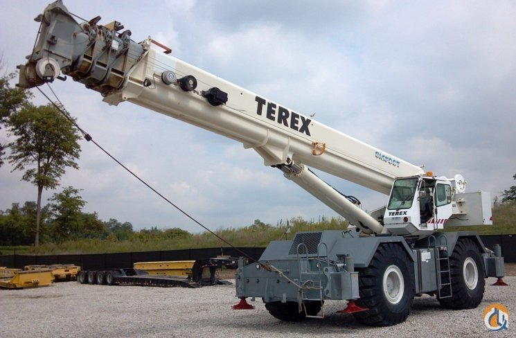 Terex RT1100 ROUGH TERRAIN CRANE Crane for Sale in Owensboro Kentucky on CraneNetworkcom