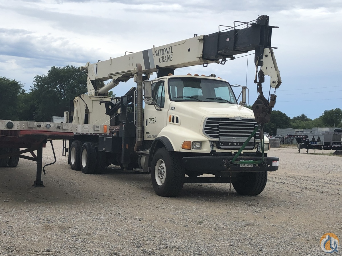 2008 National 900A Mounted on Sterling L8500 Crane for Sale in Bridgeport Texas on CraneNetwork.com