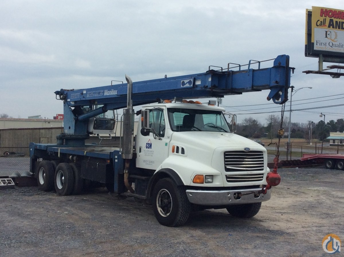 1997 Manitex M2592 Crane for Sale in Guntersville Alabama on CraneNetworkcom