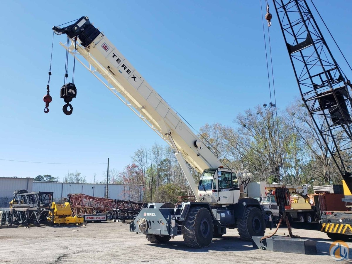 2012 TEREX RT-555 Crane for Sale or Rent in Savannah Georgia on CraneNetwork.com