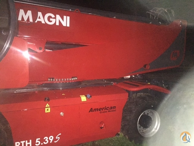 2016 Magni RTH5.39S Crane for Sale on CraneNetwork.com