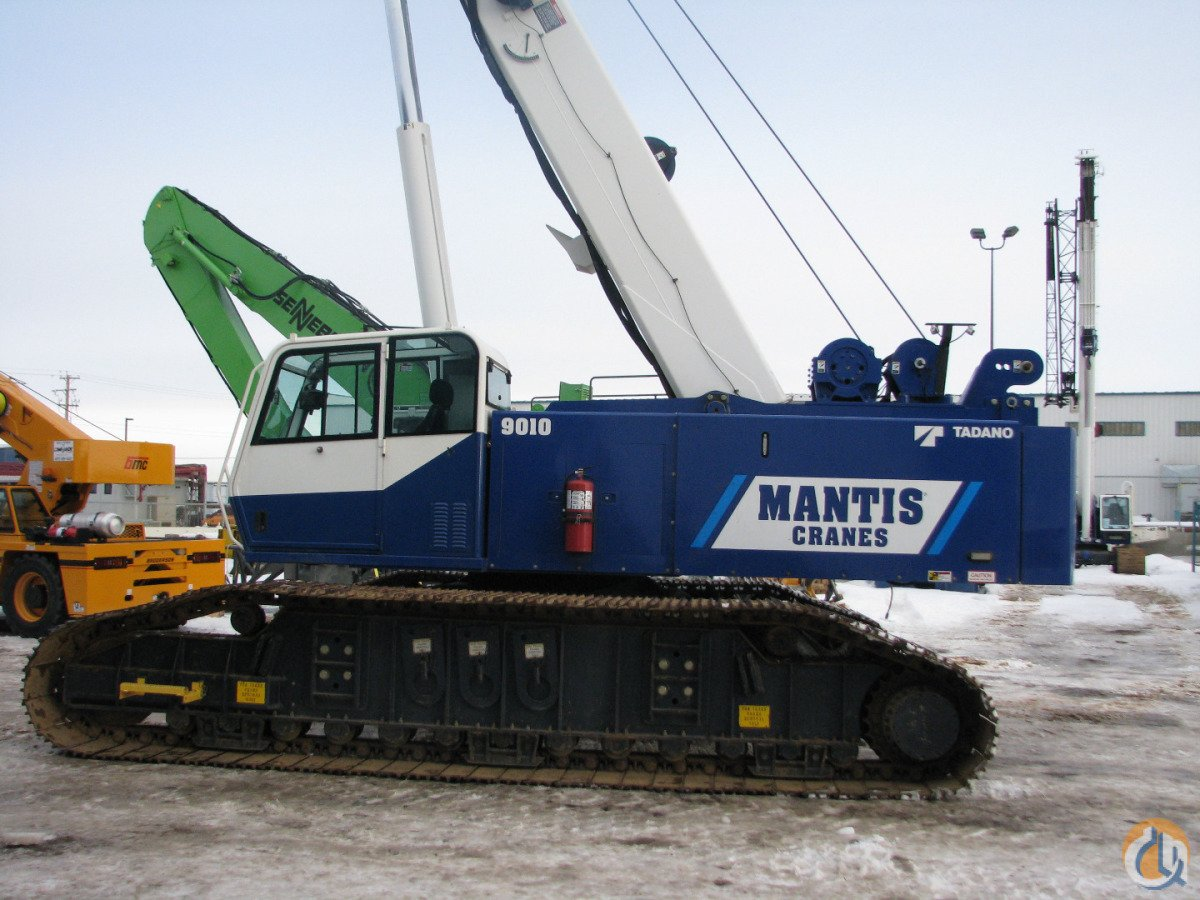 New Tadano Mantis 9010 Crane for Sale in Richlands Virginia on CraneNetwork.com
