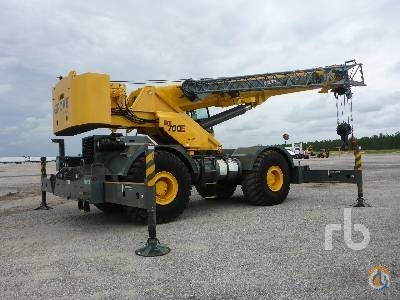 Sold 2011 GROVE RT700E Crane for  in Davenport Florida on CraneNetworkcom
