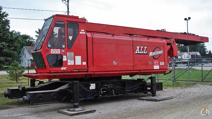 Manitowoc 888 For Sale Crane for Sale in Pittsburgh Pennsylvania on CraneNetwork.com