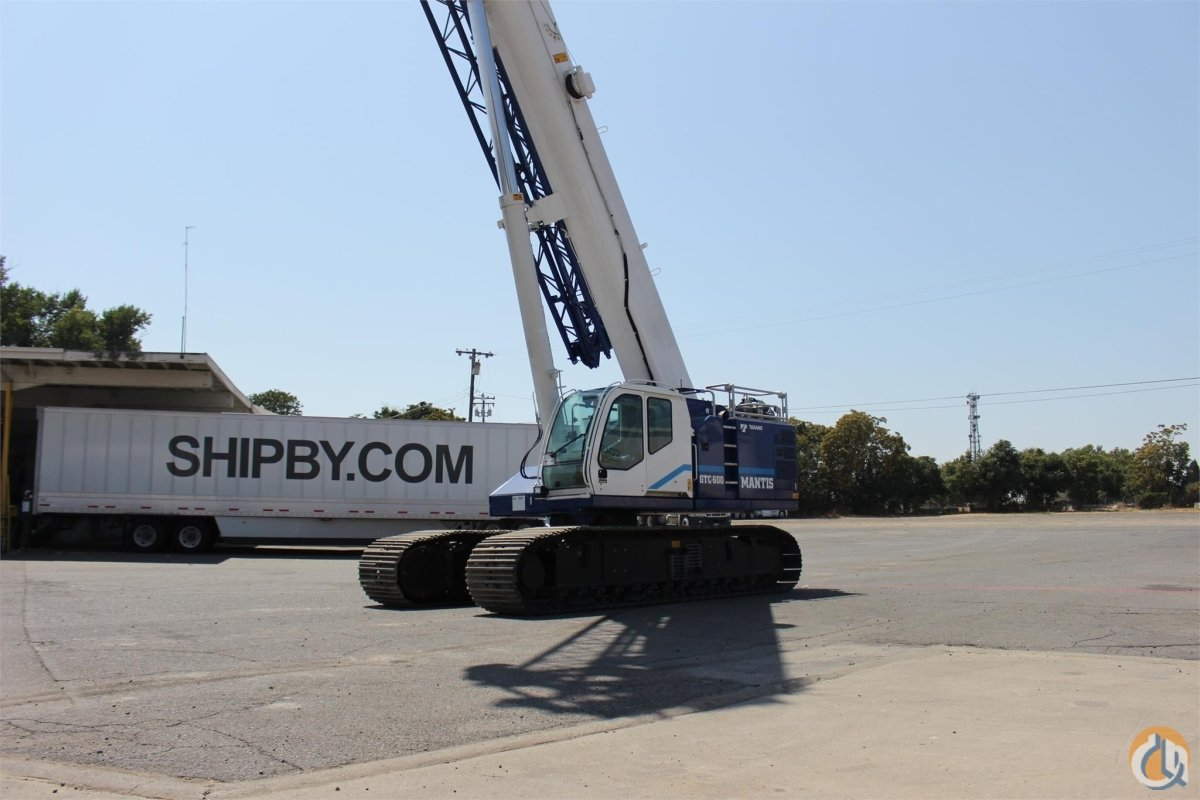2017 TADANO GTC600EX Crane for Sale or Rent in Sacramento California on CraneNetwork.com