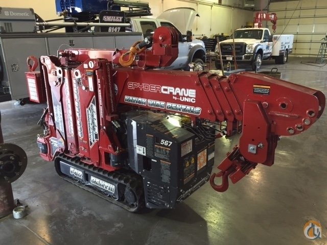 SPYDERCRANE Battery Power  110V Electric Power Crane for Sale or Rent in Phoenix Arizona on CraneNetwork.com