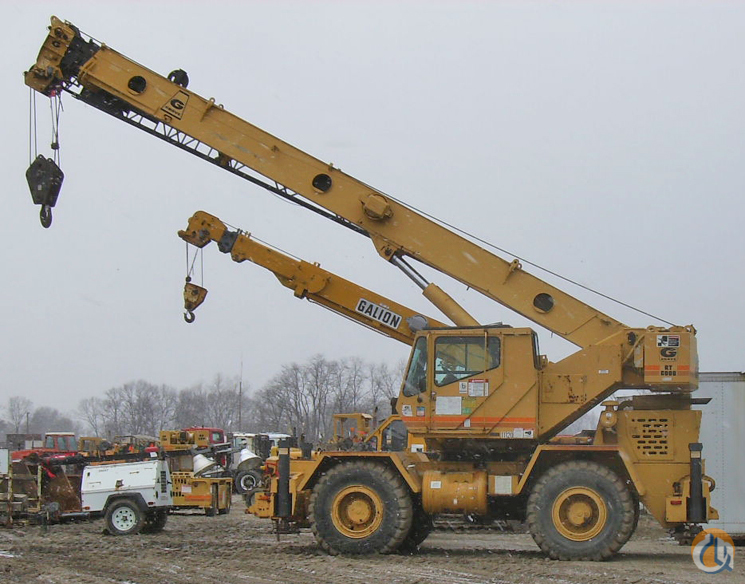Rough Terrain Crane Rental Singapore : Grove rt c ton rough terrain crane for sale in