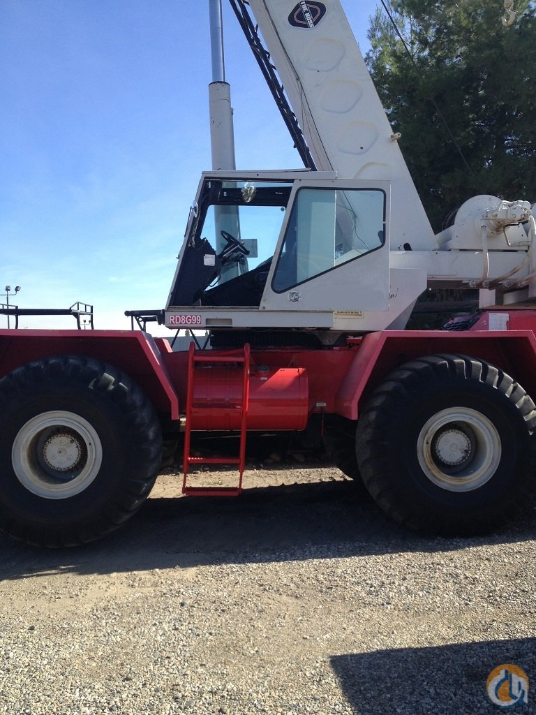1983 Link-Belt HSP8055 Rough Terrain Crane for Sale on CraneNetwork.com