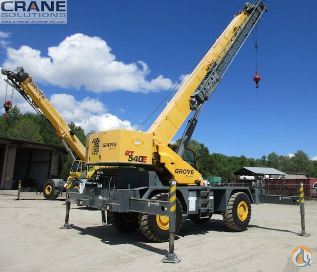 2011 Grove RT540E 40-Ton Rough Terrain Crane Crane for Sale or Rent in Savannah Georgia on CraneNetwork.com