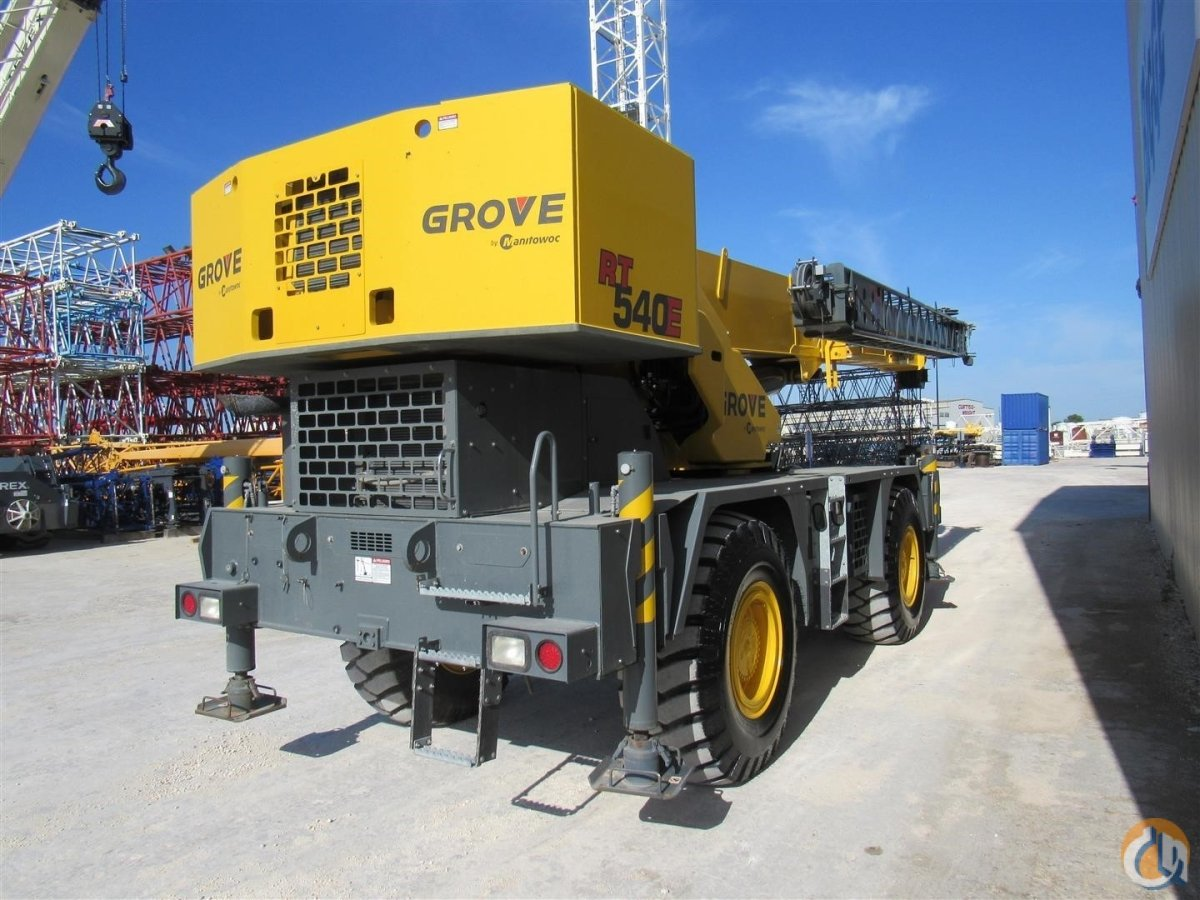 2013 GROVE RT540E Crane for Sale in Houston Texas on CraneNetwork.com