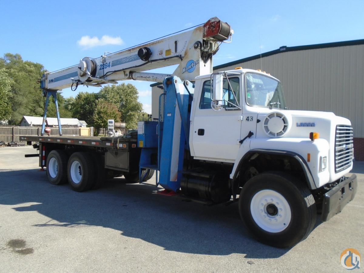 1996 Manitex-Ford 2284 22 Ton Boom Truck CranesList ID 244 Crane for Sale on
