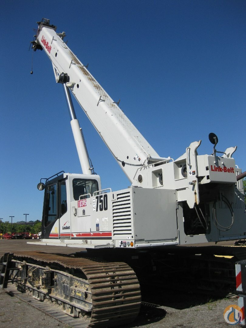 Link Belt TCC750 For Sale Crane for Sale in Knoxville Tennessee on CraneNetwork.com