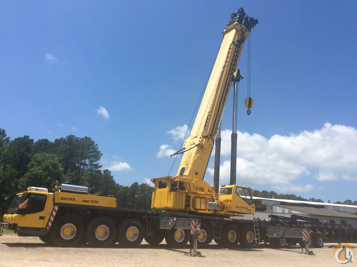 2014 Grove  GMK7550 Crane for Sale on CraneNetwork.com