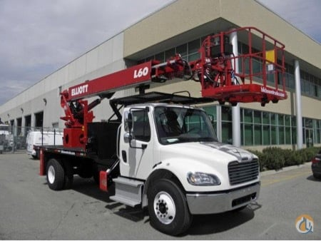 NEW ELLIOTT HiREACH L-60 on NEW 2015 FREIGHTLINER M2-106  33000 lb GVWR HYD BRAKES Crane for Sale in Toronto Ontario on CraneNetwork.com