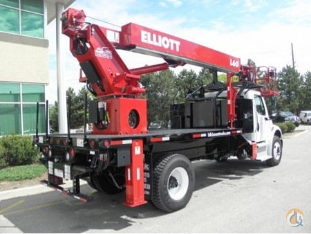 NEW ELLIOTT HiREACH L-60 on NEW 2015 FREIGHTLINER M2-106  33000 lb GVWR HYD BRAKES Crane for Sale in Toronto Ontario on CraneNetworkcom