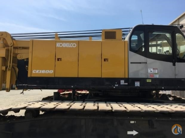 2006 KOBELCO CK1600 Crane for Sale in Houston Texas on CraneNetwork.com
