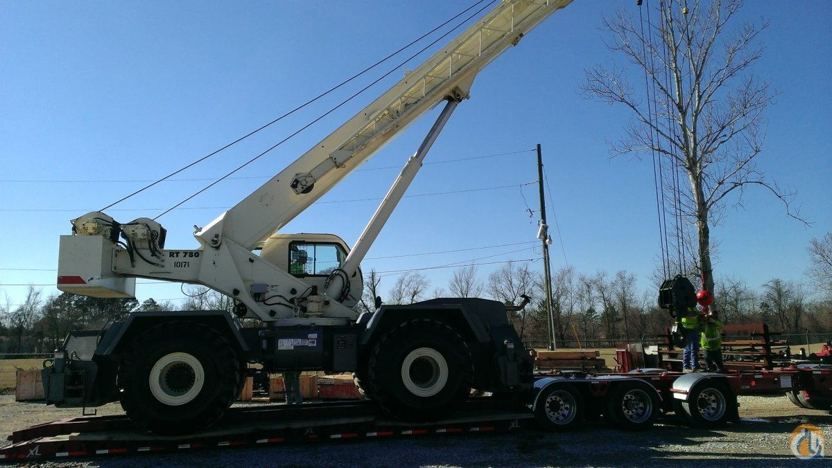 2008 Terex RT780 For Sale Crane for Sale in Baton Rouge Louisiana on CraneNetwork.com