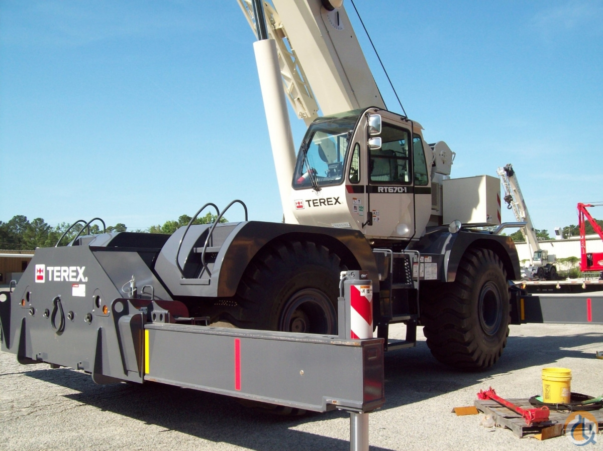 2013 TEREX RT-670 Crane for Sale or Rent in Savannah Georgia on CraneNetwork.com