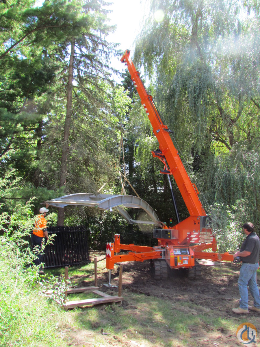 2010 Jekko 1040 Mini Crane Crane for Sale or Rent in Ayr Ontario on CraneNetworkcom
