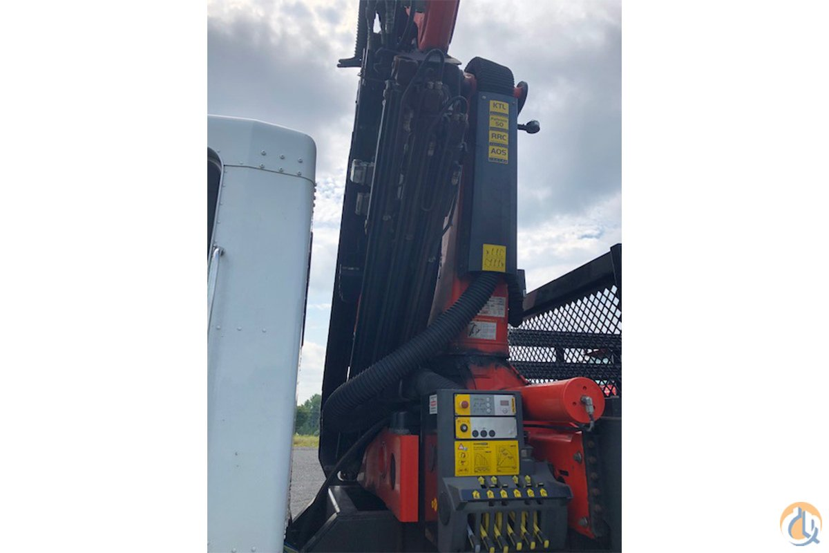 Used Palfinger PK 33002 EH knuckle boom crane installed on 2016 Kenworth T440 chassis Crane for Sale in Hampton New Jersey on CraneNetwork.com