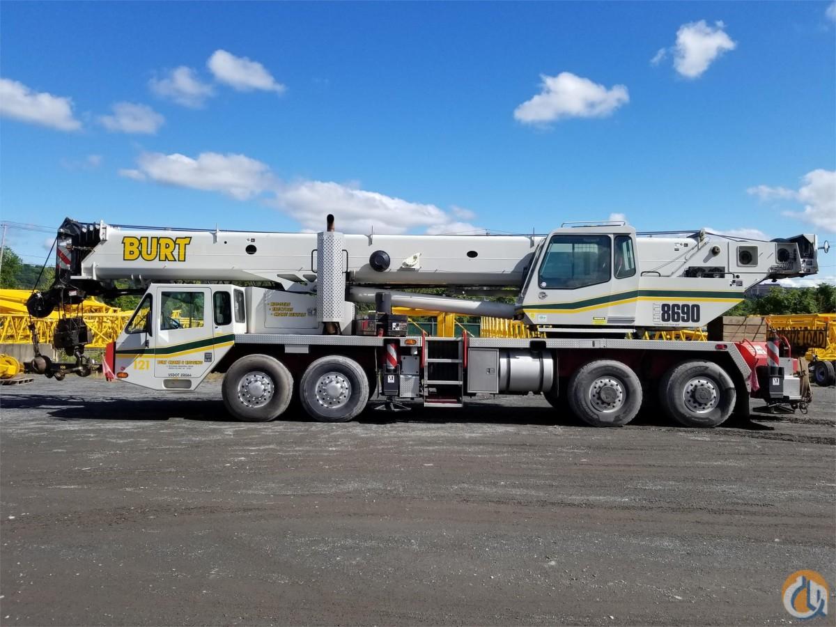 2008 LINK-BELT HTT8690 Crane for Sale in Troy New York on