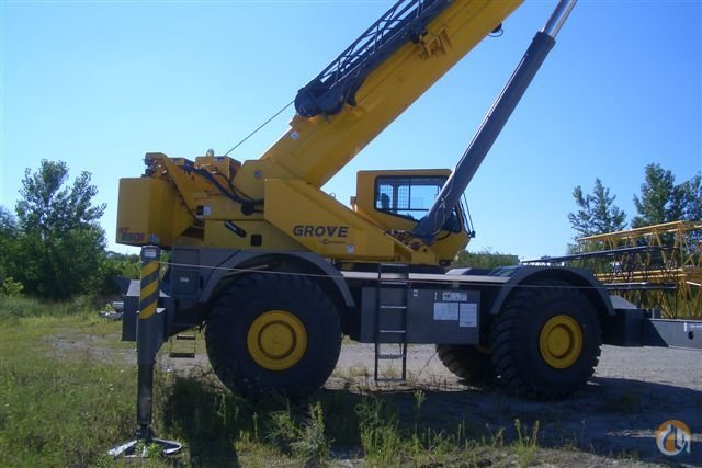Grove RT890E Rough Terrain Crane For Sale Crane for Sale in Grimes Iowa on CraneNetworkcom